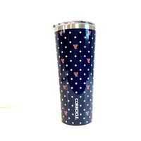 24oz UNIVERSITY OF VIRGINIA UVA POLKA DOT TUMBLER CORKCICLE, CORKCICLE - A. Dodson's