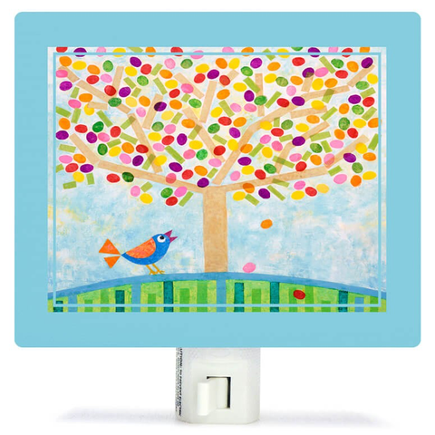 JELLYBEAN TREE BY GALE KASEGUMA NIGHT LIGHT, Greenbox Art - A. Dodson's