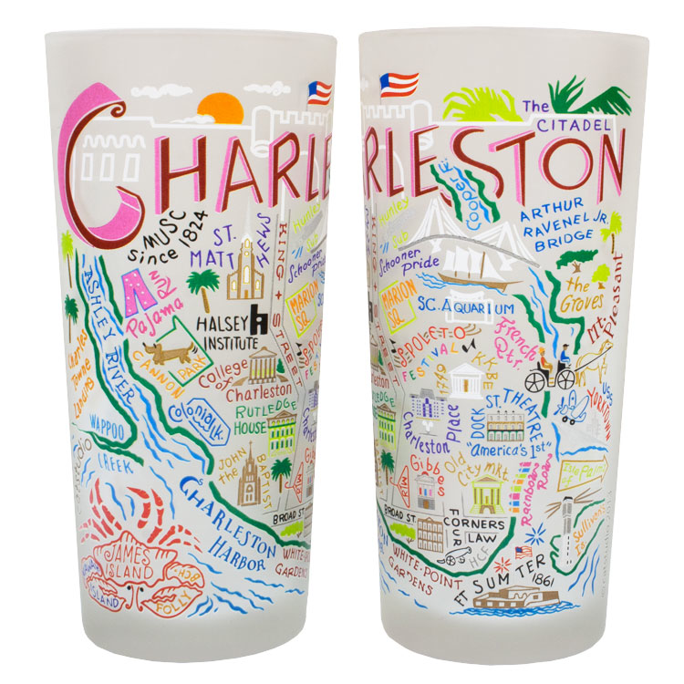 CHARLESTON GLASS BY CATSTUDIO