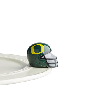 NORA FLEMING U OREGON HELMET MINI A307, Nora Fleming - A. Dodson's