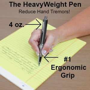 Heavyweight Ball Pen with The Pencil Grip