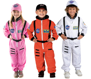Jr. Astronaut Suit W/ Embroidered Cap