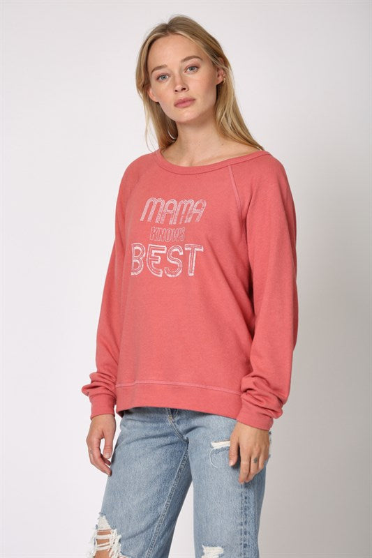 MAMA KNOWS BEST SWEATSHIRT