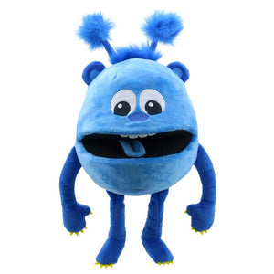 BABY BLUE MONSTER PUPPET