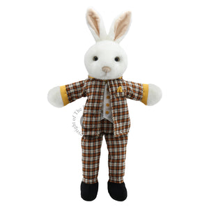DRESSED ANIMAL PUPPET - MR. RABBIT