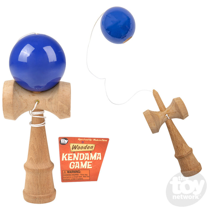 "8"" WOODEN KENDAMA"