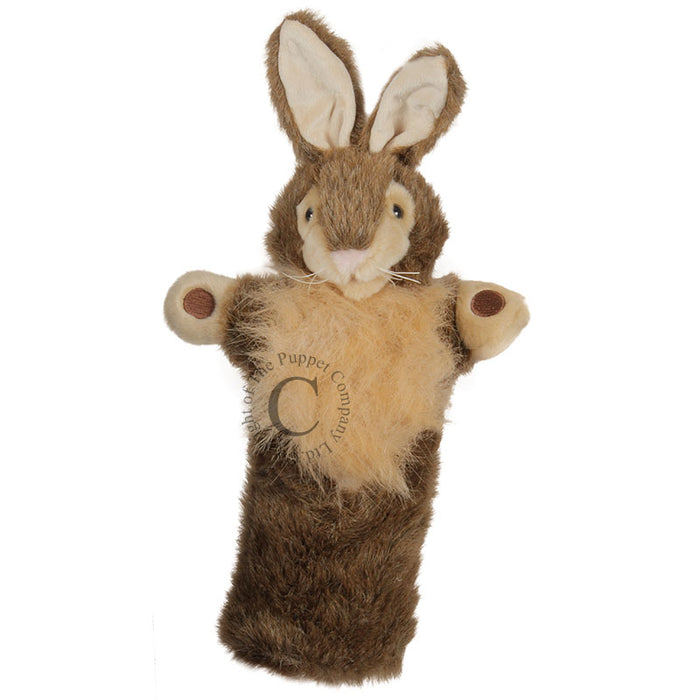 LONG-SLEEVED GLOVE PUPPET - WILD RABBIT