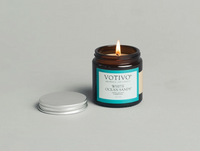2.8 OZ AROMATIC JAR CANDLE WHITE OCEAN SANDS by VOTIVO
