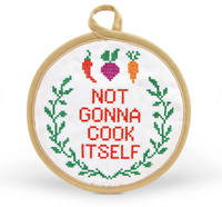 IN STITCHES POTHOLDER - NOT COOK