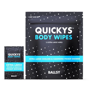 Quickys Ball & Body Wipes by Ballsy