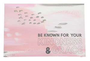 BE KNOWN INSPIRATIONAL QUOTE SWEET GRACE SCENTED SACHET