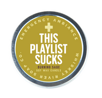 THIS PLAYLIST SUCKS CANDLE
