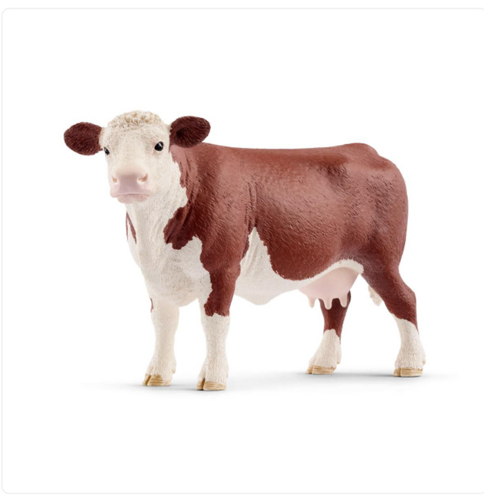 HEREFORD COW BY SCHLEICH