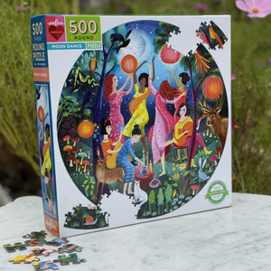 MOON DANCE ROUND PUZZLE, 500 PC.