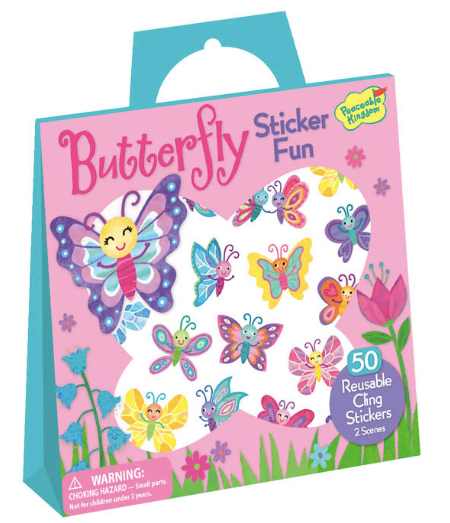 BUTTERFLY STICKER TOTE