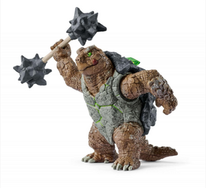 ARMOURED TURTLE WITH WEAPON BY SCHLEICH