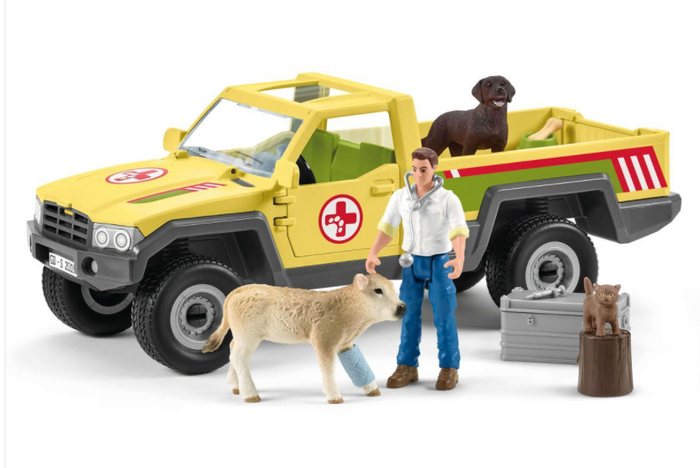 VETERINARIAN VISIT AT THE FARM BY SCHLEICH