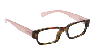 PEEPERS IVY READERS - TORTOISE/BLUSH
