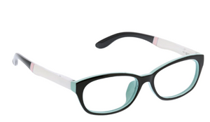 PEEPERS PACIFIC PROMENADE READERS - BLACK/WHITE