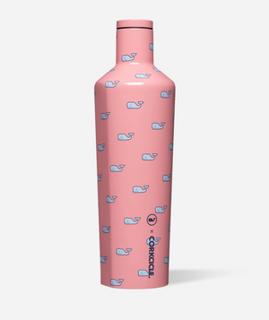 25oz VINEYARD VINES WHALES REPEAT CANTEEN CORKCICLE