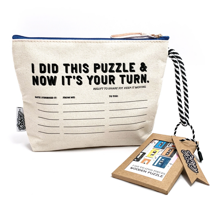 Mix Tapes Puzzle in Pass-It-On Pouch 250pc