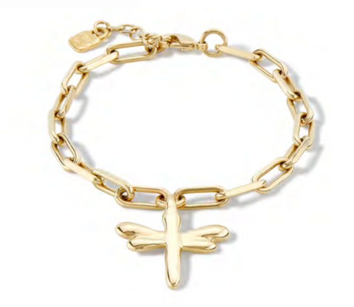 UNO DE 50 TAKE-ME GOLD BRACELET