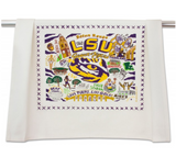 LOUISIANA STATE UNIVERSITY DISH TOWEL BY CATSTUDIO, Catstudio - A. Dodson's
