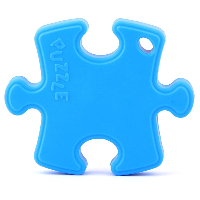 Puzzle Piece Silicone Teether