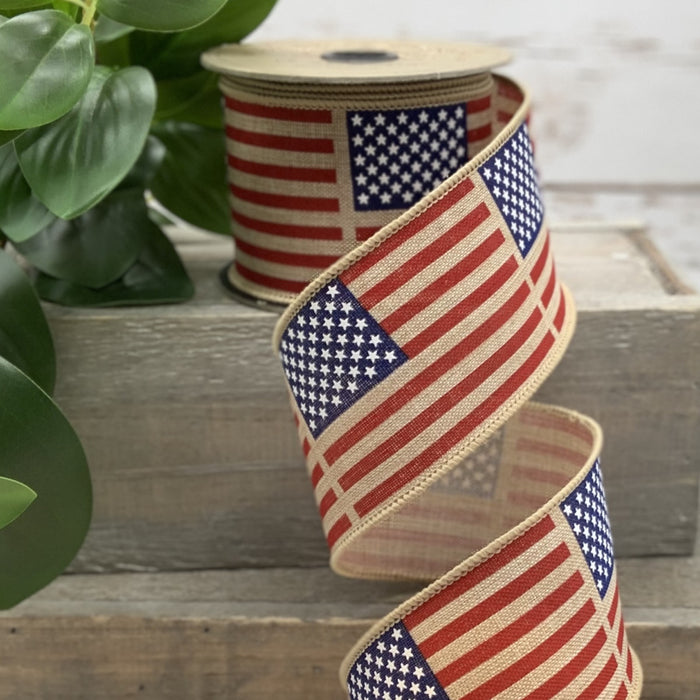 Vintage Flag Ribbon