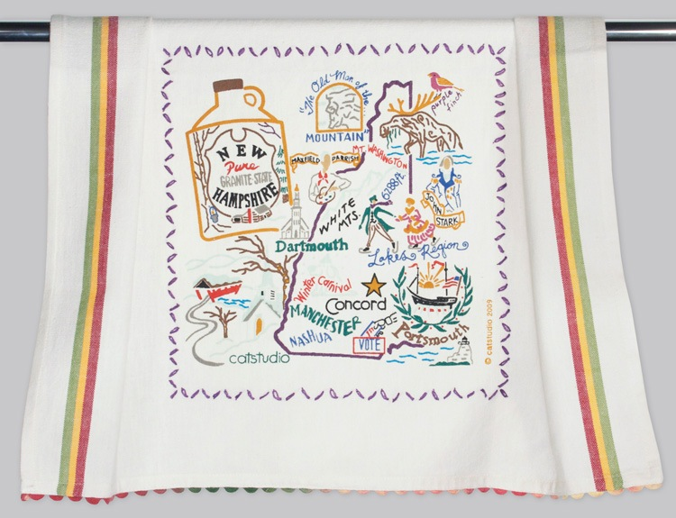 NEW HAMPSHIRE DISH TOWEL BY CATSTUDIO, Catstudio - A. Dodson's