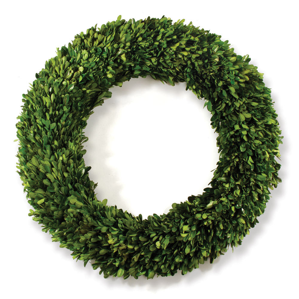BOXWOOD DOUBLE SPHERE TOPIARY 20""