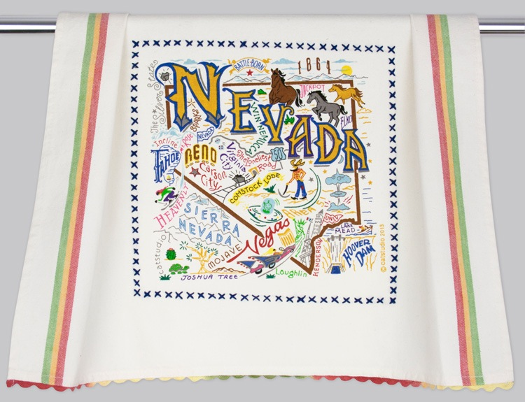 NEVADA DISH TOWEL BY CATSTUDIO, Catstudio - A. Dodson's