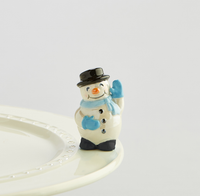 NORA FLEMING FROSTY PAL SNOWMAN MINI A172, Nora Fleming - A. Dodson's