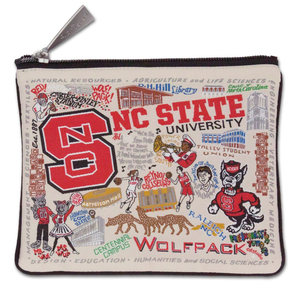 NORTH CAROLINA STATE POUCH, Catstudio - A. Dodson's