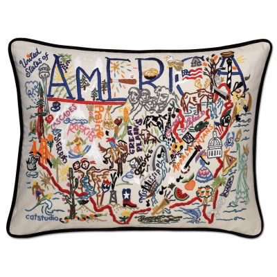 AMERICA PILLOW  BY CATSTUDIO, Catstudio - A. Dodson's