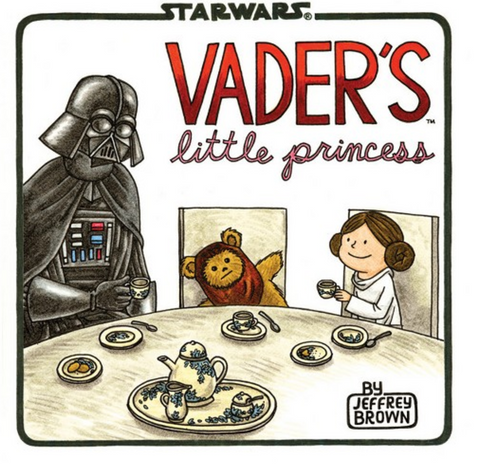 DARTH VADER'S LITTLE PRINCESS HACHETTE BOOKS - A. Dodson's