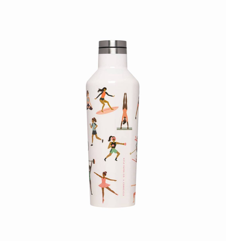 16oz RIFLE PAPER SPORTS GIRLS CANTEEN CORKCICLE, CORKCICLE - A. Dodson's