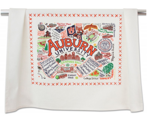 AUBURN UNIVERSITY DISH TOWEL BY CATSTUDIO Catstudio Home Spring - A. Dodson's