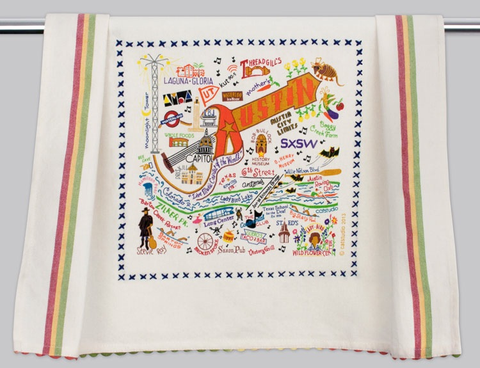 AUSTIN DISH TOWEL BY CATSTUDIO Catstudio Home Spring - A. Dodson's