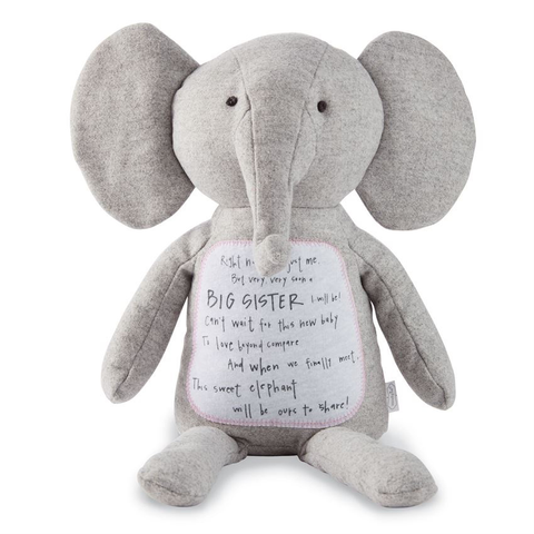 BIG SISTER ELEPHANT PLUSH