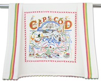 CAPE COD DISH TOWEL BY CATSTUDIO, Catstudio - A. Dodson's