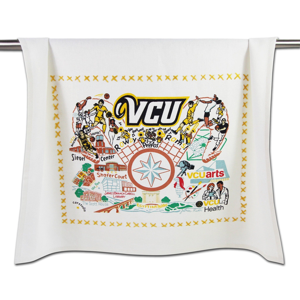 VIRGINIA COMMONWEALTH UNIVERSITY DISH TOWEL