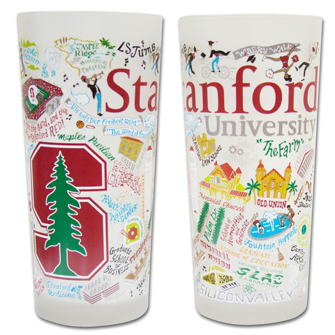 STANFORD UNIVERSITY GLASS BY CATSTUDIO