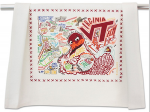 VIRGINIA TECH DISH TOWEL BY CATSTUDIO, Catstudio - A. Dodson's