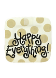 HAPPY EVERYTHING NEUTRAL DOT MINI PLATTER {product_vendor} - A. Dodson's