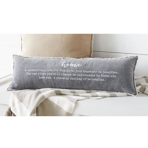 HOME DEFINITION PILLOW, MUD PIE - A. Dodson's