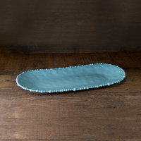 BEATRIZ BALL VIDA ALEGRIA LARGE OVAL TRAY - BLUE, Beatriz Ball Collection - A. Dodson's