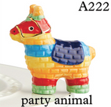 BRAND NEW! NORA FLEMING PARTY ANIMAL PINATA MINI, Nora Fleming - A. Dodson's