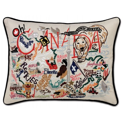 CANADA PILLOW  BY CATSTUDIO