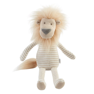 SMALL KNIT LION DOLL, Mudpie - A. Dodson's